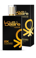 Love & Desire GOLD doble concentrado para hombres 100ml