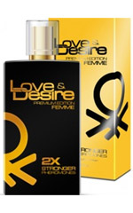 Love & Desire GOLD doble concentrado para mujeres 100ml